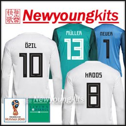 0fdf945f4 Germany World Cup 2018 Home Soccer Nameset Print KROOS MULLER KIMMICH REUS  OZIL Soccer-International Clubs