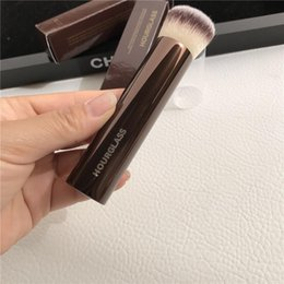 Hourglass VANISH Seamless Finish Foundation Brush VIRTUAL SKIN PERFECT - Soft Dense Hair BB Cream Liquid - Beauty makeup brushes Blender on Sale