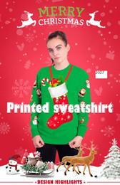 Movie Costume Design Australia - 2018 new Fashion design Europe United States style sell spot Christmas festival sets 3 d digital printing fleece christmas party costume