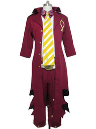 China AO No Blue Exorcist Amaimon King Of Earth Uniform Outfit Cosplay Costume cheap blue exorcist cosplay suppliers