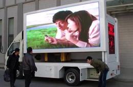 Vente en gros TEEHO mobile a conduit le camion P5 signe extérieur videowall 6500cd 960x960mm signes haute luminosité panneau publicitaire affichage LED