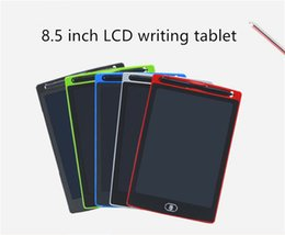 Pen Boards UK - LCD 8.5 inch Writing Tablet Led writing board Blackboard Handwriting Pads Paperless Notepad Whiteboard Memo With Upgraded Pen DHL