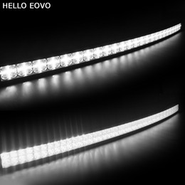 52 led light bar Australia - HELLO EOVO 7D Curved 52 inch 500W with DRL LED Work Light Bar for Tractor Boat OffRoad 4WD 4x4 Truck SUV ATV Combo Beam 12V 24v
