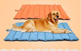 $enCountryForm.capitalKeyWord Australia - Waterproof Pet Dog Mat Outdoor Dog Bed Cushion Non-stick Hair Easy Cleaning Dog Blanket Portable Travel Kennel