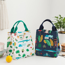 lunch bags for kids 2018 - Yesello New Fresh Portable Lunch Bags Insulated Thermal Picnic Lunch Bags for Women kids Men Cooler Box Bag discount lun