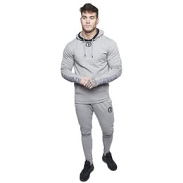 6d4439c984f Build Clothes UK - Hoodies Sport Suit Running Men Clothing Set Gym  Sportwear Tracksuit Fitness Body