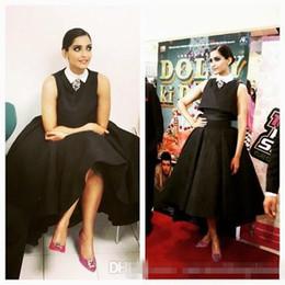 $enCountryForm.capitalKeyWord NZ - Ashi Studio 2018 Black Two Pieces Short Prom Dresses High Neckline High Low Taffeta Custom Made Evening Gowns For Arabian Dubai Women