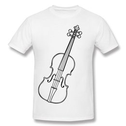 Brand New Hombre 100 Cotton Violin Tee Shirts Hombre Round Neck Carbon  Blouse Short Sleeve Large Size Printed On Tee Shirts 384848bcd454