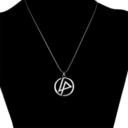 Linkin park pendant online shopping - LNRRABC High Quality Silvery Linkin Park Punk Women Unisex Fashion Popular Pendant Necklace Fashion Jewelry