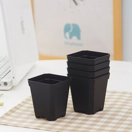 $enCountryForm.capitalKeyWord Canada - Thickening Square nursery plastic flower pot for indoor home desk bedside or floor, and outdoor yard,lawn or garden planting wholesale