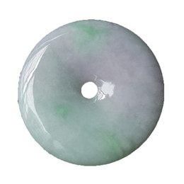China TJP Natural grade A jadeite carved round PINANKOU Sweater pendants jade with certificate together cheap carving jade suppliers