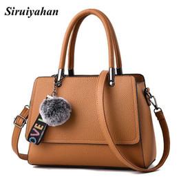 Red Fur Handbags NZ - Siruiyahan Messenger Bags Women s Bags for Women 2018  Solid Fur Soft ec4d227e461f9