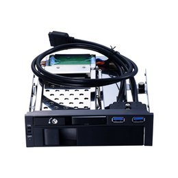 Usb optical drive online shopping - Optical drive space inch SATA HDD SSD and inch SATA HDD mobile rack with LED indicator and support hot swap