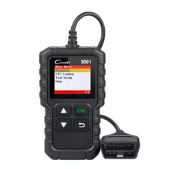 China New arrival LAUNCH Full OBDII EOBD code reader scanner Creader 3001 diagnostic tool Multilingual Support CR3001 same as AL419 suppliers