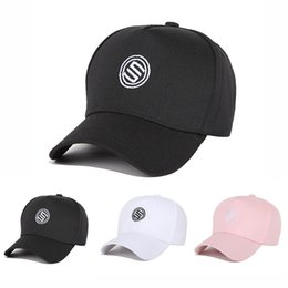497da758a0d Korean version of the letter ribbon men and women hat outdoor sports visor  personality trend baseball cap