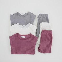 generations clothing 2019 - Ins children's clothing a generation of hair 2018 autumn children's candy color pit wood ear long-sleeved home