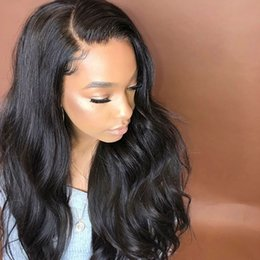 Long Lasting Hair NZ - Long lasting beauty long full lace wig human hair with baby hair 100% unprocessed remy natural color natural wave attractive for women