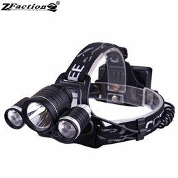 $enCountryForm.capitalKeyWord NZ - THREE LEDS CREE XML T6 10W 1000LM + XPE-R2*2 240LM*2 LED Camping Light Headlamp 4 Modes LED Bicycle Light 18650 Lithium Baery