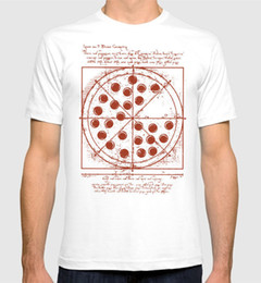 63ec12b94 Spider-man Vitruvian Pizza T-Shirt Tom Holland Homecoming Men's Women's Tee  Round Neck Best Selling Male Natural Cotton Shirt