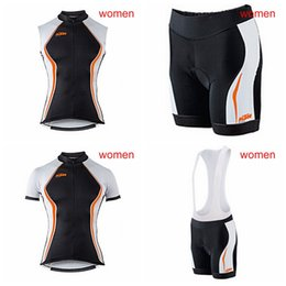 041086589eb KTM Cycling Short Sleeves jersey (bib) shorts Sleeveless Vest sets Summer  hot selling fast dry mtb bike clothes ladies ropa ciclismo A41913