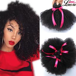 Human Hair 12 incHes cHeap online shopping - Brazilian Afro Curly Human Hair Unprocessed Brazilain Afro Kinky Curly Bundles Cheap A Malaysian Peruvian Virgin Human Hair Weave B