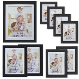 67c86f8a76f Picture frame sets black online shopping - Giftgarden Black Wall Picture  Frame Set of PVC Lens