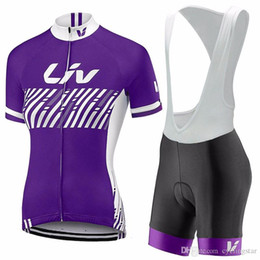 maillot bib 2019 - 2017 LIV cycling clothing mujer maillot ciclismo Bike Short Sleeve summer quick dry women pro Cycling jerseys mtb bib sh
