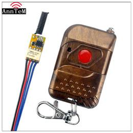 Discount remote control 9v - Anntem brand DC3.7V 4.5V 5V 6V 7.4V 9V 12V RF remote control switch Relay 1CH Mini Wireless Control Switch Wide Working