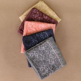 $enCountryForm.capitalKeyWord NZ - Laven Women popular floral lace scarves bandhnu cotton scarf muslim hijab wraps long shawls scarf 10 color 180*90cm 10pcs lot