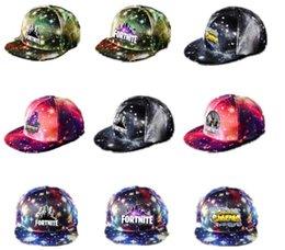 7e9d272dda8 2018 Men Women Game Fortnite Star Sky Snapback Baseball Cap Unisex Classic  Hiphop Hats Boy Girls Casquette Hat Outdoor Sunshade Ball Cap
