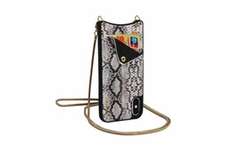 China Luxury Retro Pattern Leather Card Bag With Lanyard Back Phone Case Protector For iPhone X 6 6S 7  7 8 Plus suppliers