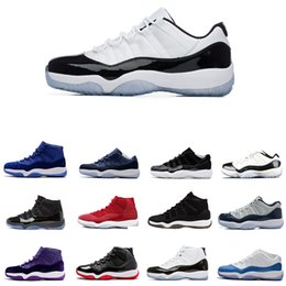 a92ce2d5dccc4c Newest Cap and Gown 11 Prom Night 11s XI Gym Red Bred Concord PRM Heiress men  women Basketball Shoes midnight navy sports Sneaker