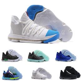 957e493a66ba Kd Easter Sneakers UK - 2019 KD 10 Basketball Shoes KD 10s Oreo Be True  UniversIty