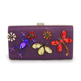 e9191a1d69ce Mode luxe designer insecte papillon diamant dames soirée sac sac à main  fourre-tout sac à bandoulière femmes Crossbody sacs (C1526)
