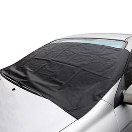 Магнитные автомобильные чехлы лобовое стекло ветровое стекло обложка тепла козырек от Солнца анти снег мороз ледяной щит пыли протектор зима стайлинга автомобилей