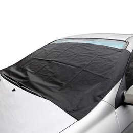 $enCountryForm.capitalKeyWord Canada - 1Pc Magnetic Car Covers Windshield Windscreen Cover Heat Sun Shade Anti Snow Frost Ice Shield Dust Protector Winter Car Styling