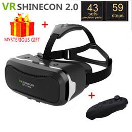 $enCountryForm.capitalKeyWord NZ - Casque 3 D VR Shinecon 2.0 Box 3D Virtual Reality Glasses Goggles Headset Helmet For Smart Phone Smartphone Len Google Cardboard