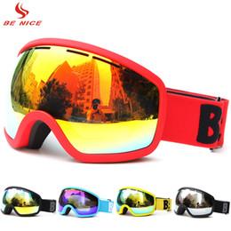 Goggle Ski Anti Uv Australia - Polarized Ski Goggles Glasses Eyewear for Men Women Adults Winter Snow Sports Skiing Snowboarding Goggles UV 400 Anti-fog