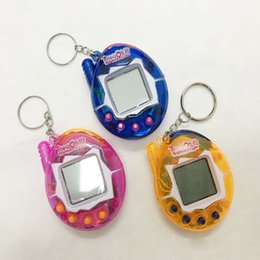 China Tamagotchi Digital Pets Retro Game egg shells Vintage Virtual Cyber Pets Funny Toy Mini E-Pets for Child Kids Adult Christmas Gift NEW 2018 cheap new virtual games suppliers