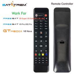 Remote Satellite NZ - Remote Control For Digital Satellite Receiver FreeSat GTmedia V8 Super V8 Golden Nova DVB-S2 DVB-T2 DVB-C IPTV Free sat Box