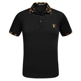 More Man shirt online shopping - Summer men s polo shirt fashion cotton solid color men s casual lapel polo shirt more style men s shirt T shirt