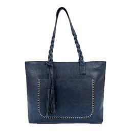 $enCountryForm.capitalKeyWord Canada - Fashion Women PU Leather Bag Tassel Handbags Women Big Totes Bags Luxury Designer High Quality sac a main Vintage Shoulder Bag