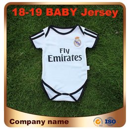 2019 Real Madrid Baby Soccer Jersey 18 19 4 SERGIO RAMOS 10 MODRIC Kids Kit  Football romper BENZEMA ASENSIO ISCO 9-18 Months Shirt Uniforms 00066a360