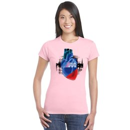 $enCountryForm.capitalKeyWord NZ - Women Basic T-Shirt Car fans Tshirt M Power Logo Auto Blut Manner Print T shirts Girl Hip-Hop Top Tees Fashion homme Gyms Shirt