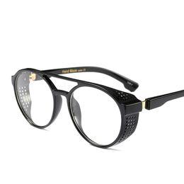 23679ff75fc Star Same Style Sunglass Retro Luxury Brand Designer Eyeglasses For Men New  Pattern Plastic Summer Circular Sun Glasses 20fd jjWW
