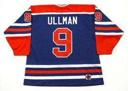 108a2d703 wha jerseys 2019 - NORM ULLMAN Edmonton Oilers K1 1975 WHA Vintage Turn  Back Hockey Jersey