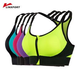 84c1cb2684c Adjustable Yoga Bra Women Padded Vest Tanks Professional Gym Tights Sexy  Tops Shakeproof Fitness Underwear Quick Drying Sweats