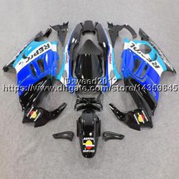 F3 Fairing Kit Australia - 23colors+5Gifts+Custom repsol blue motorcycle body kit ABS Plastic for HONDA CBR600F3 1997-1998 F3 97 98 Fairing