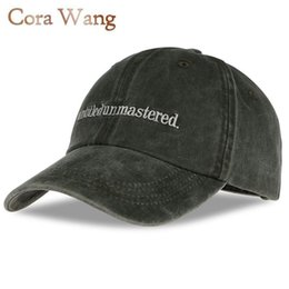 863d16c2f96 Cora Wang Snapback Kendrick Lamar Untitled Unmastered Embroidery hip hop  Dad Hat Rap Brand Baseball Cap ENOUGH Red Women Men gor