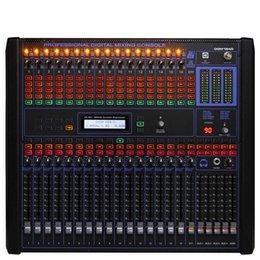 Mélangeur audio numérique 16 canaux de qualité supérieure Mélangeurs montés en rack de 19